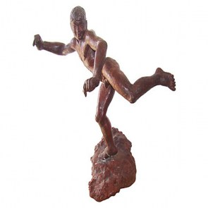 gesso-boy-running-sculpture